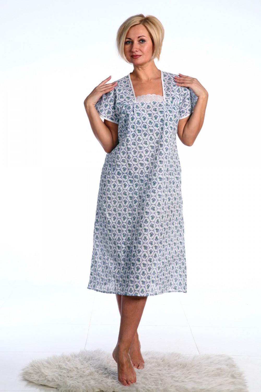 Увеличить - Сорочка ночная мод.№63