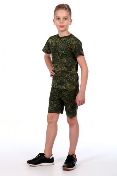 Комплект футболка с шортами кмф